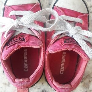 f48e660fccd3 Converse Shoes - Hot Pink Converse Toddler Size 6